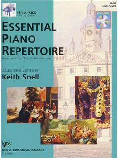 Essential Piano Repertoire - Level 7 (Book And CD) Books and CDs | Piano