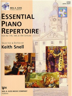 Essential Piano Repertoire - Level 8 (Book And CD) Books and CDs | Piano