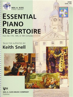 Essential Piano Repertoire - Level 10 (Book And CD) Books and CDs | Piano