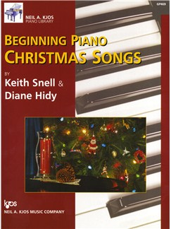 Diane Hidy/Keith Snell: Beginning Piano Christmas Songs Books | Piano
