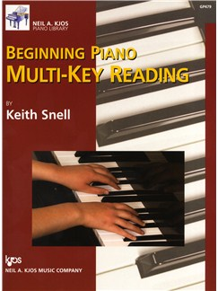 Keith Snell: Beginning Piano Multi-Key Reading Books | Piano