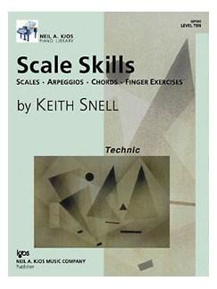 Keith Snell: Scale Skills - Level 10 Books | Piano