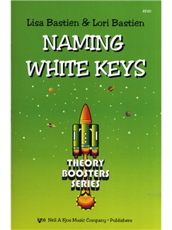Lisa Bastien And Lori Bastien: Naming White Keys Books |