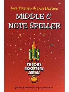 Lisa Bastien And Lori Bastien: Middle C Note Speller Books |