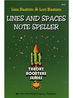 Lisa Bastien And Lori Bastien: Lines And Spaces Note Speller Books |