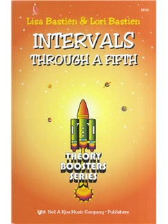 Lisa Bastien/Lori Bastien: Intervals Through A Fifth - Theory Boosters Series Books |