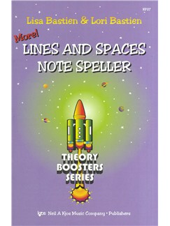 Lisa Bastien/Lori Bastien: More! Lines And Spaces Note Speller - Theory Boosters Series Books |