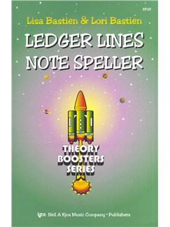 Lisa Bastien/Lori Bastien: Ledger Lines Note Speller - Theory Boosters Series Books |