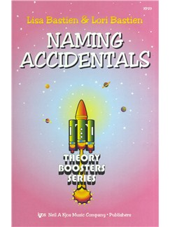 Lisa Bastien/Lori Bastien: Naming Accidentals - Theory Boosters Series Books |