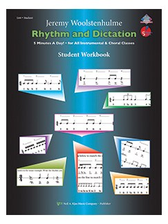 Jerry Woolstenhulme: Rhythm and Dictation - Teacher Edition Books | All Instruments