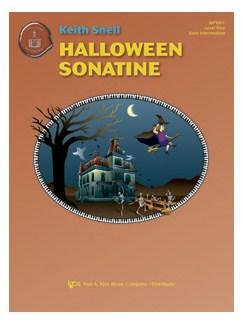 Keith Snell: Halloween Sonatine Books | Piano