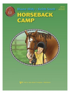 Diane Hidy and Keith Snell: Horseback Camp Books | Piano