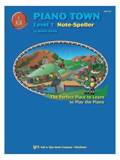 Piano Town Note-Speller - Level One Books | Piano
