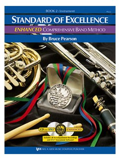 Standard Of Excellence: Enhanced Comprehensive Band Method Book 2 (Baritone Bass Clef) Books and CDs | Baritone
