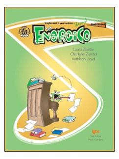 Theory Gymnastics: Energico (Level B) Books | Piano