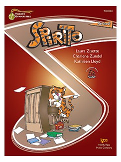 Theory Gymnastics: Spirito (Level B) Books   Piano