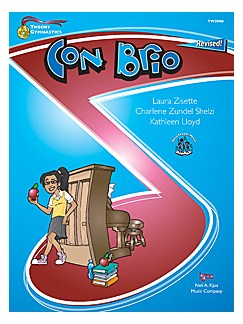 Theory Gymnastics: Con Brio (Level D) Books | Piano