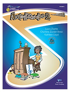 Theory Gymnastics For Teens & Adults: Accelerando 2 Books | Piano