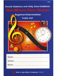 Holly Shaw-Slabbinck/Ronald Slabbinck: One-Minute Sight Singing - Beginner/Intermediate Books | Voice