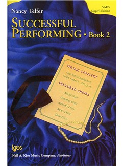 Nancy Telfer: Successful Performing - Book 2 (Student's Edition) Books | Voice, Piano Accompaniment
