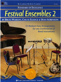 Standard Of Excellence: Festival Ensembles 2 (Clarinet/Bass Clarinet) Books | Clarinet