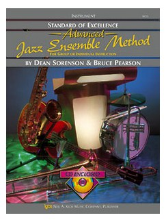 Standard Of Excellence: Advanced Jazz Ensemble Method (Vibes/Auxiliary Percussion) Books and CDs | Vibraphone, Percussion