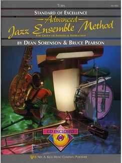 Standard Of Excellence: Advanced Jazz Ensemble Method (Tuba) Books and CDs | Tuba