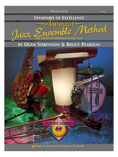Standard Of Excellence: Advanced Jazz Ensemble Method (4th Trombone) Books and CDs | Trombone