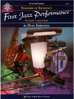 Standard Of Excellence: First Jazz Performance (1st/2nd Trumpet) Books | Trumpet