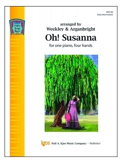 Center Stage Duets: Oh! Susanna Books | Piano Duet