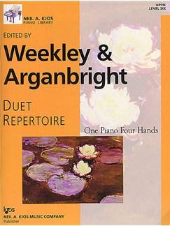 Duet Repertoire - Level 6 Books | Piano Duet