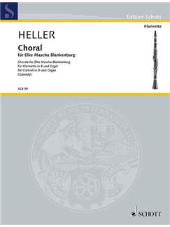 Barbara Heller: Choral - For Elke Mascha Blankenburg Books | Clarinet, Organ Accompaniment