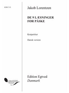 Jakob Lorentzen: De 9 Læsninger Før Påske (Vocal Score) Bog | SSA - Lige stemmer, Klaverakkompagnement
