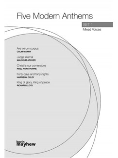Five Modern Anthems: Set 1 - Mixed Voices Books   Unison Voice, Voice