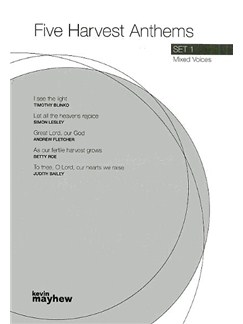 Five Harvest Anthems Set 1 Books | SATB, Piano Accompaniment