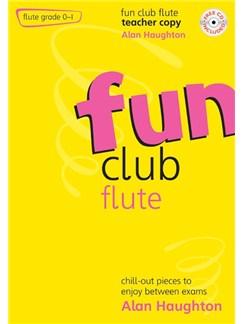 Alan Haughton: Fun Club Flute - Grade 0-1 (Teacher Copy) Books and CDs | Flute