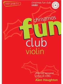 Christmas Fun Club - Violin Books and CDs | Violin, Piano Accompaniment