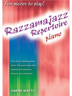 Sarah Watts: Razzamajazz Repertoire - Piano Books | Piano