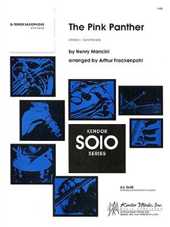 Henry Mancini: The Pink Panther (B-Flat Tenor Saxophone) Books   Tenor Saxophone, Piano Accompaniment