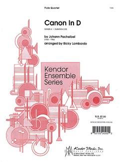 Johann Pachelbel: Canon In D (Flute Quartet) Books | Flute (Quartet)