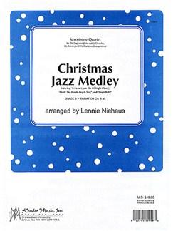 Christmas Jazz Medley (Saxophone Quartet) Books | Saxophone (Quartet)
