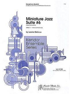 Lennine Niehaus: Miniature Jazz Suite No.6 Books | Saxophone (Quartet)