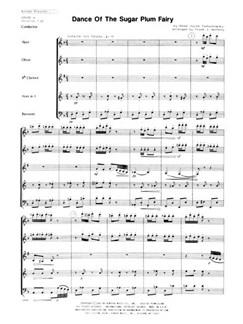 Pyotr Ilyich Tchaikovsky: Dance Of The Sugar Plum Fairy Books | Wind Quintet