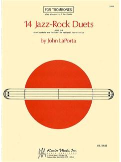 John Laporta: 14 Jazz-rock Duets Books | Trombone (Duet)