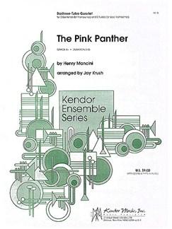 Henry Mancini: The Pink Panther (Baritone/Tuba Quartet) Books | Brass Quartet