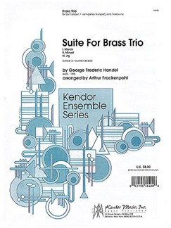 G.F. Handel: Suite For Brass Trio (Frankenpohl arr.) Books | Brass Trio