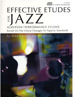 Effective Etudes For Jazz - Tenor Saxophone Books and CDs | Tenor Saxophone