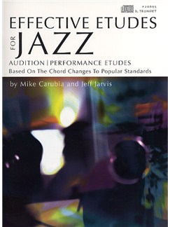 Effective Etudes For Jazz - Trumpet Books and CDs | Trumpet