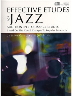 Effective Etudes For Jazz - Trombone Books and CDs | Trombone