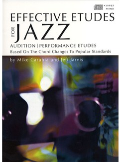 Effective Etudes For Jazz - Piano Books and CDs | Piano